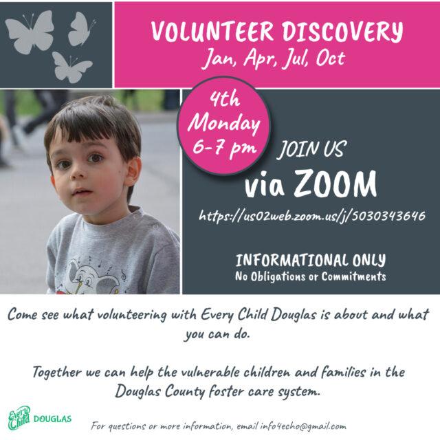 Volunteer Discovery Recurring Dates